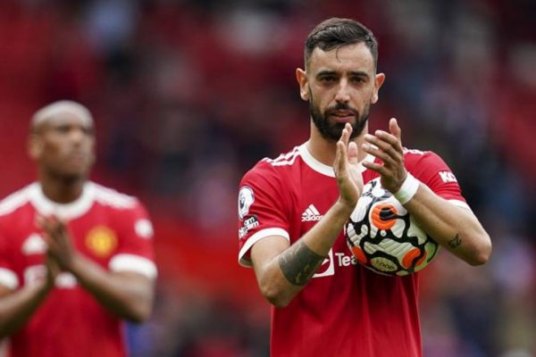 Manchester United midfielder Bruno Fernandes has revealed not to score a hat-trick earlier as he waits for fans to cheer at the stadium first.