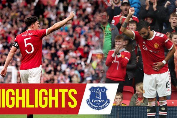 ManchesterUnited4 -Everton0 pre season.