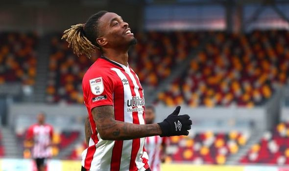 Brentford boss Thomas Frank has lauded the performance of striker Ivan Toney in the Arsenal cla