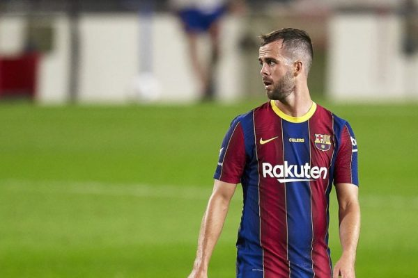 Barcelona release Miralem Pjanic this week.