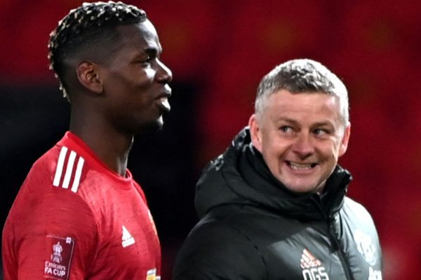 Manchester United are still in talks with Paul Pogba over a new contract.